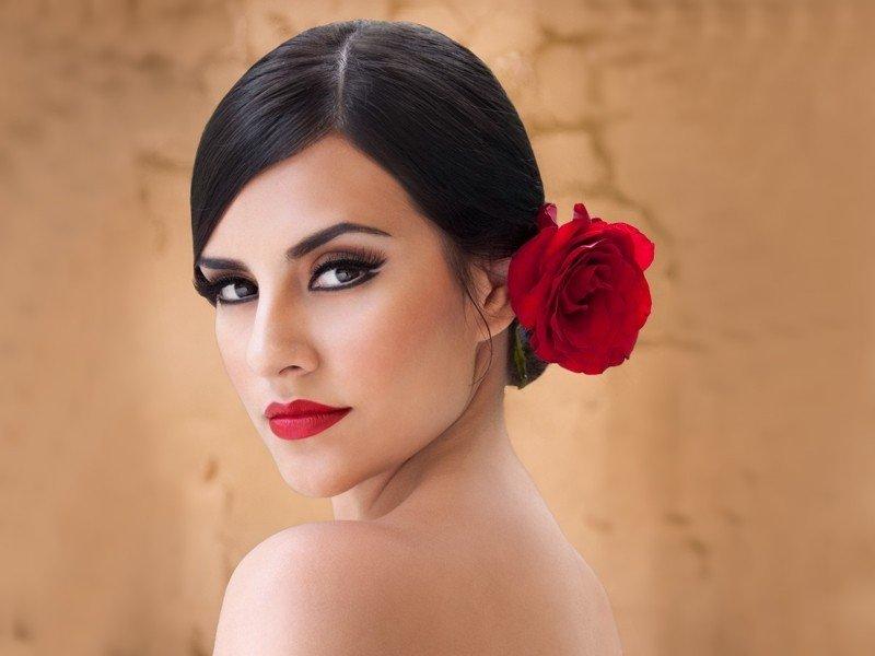 Испанские макияжи фото